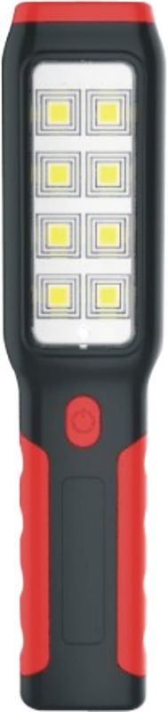 LED Battery Operated Work Lights For Auto Repairing , Black Rechargeable Cordless LED Work Light