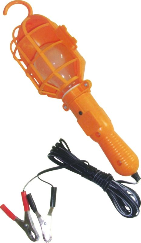 Orange Rechargeable Auto Inspection Lamp With 5 Meters Cable 220V 60W